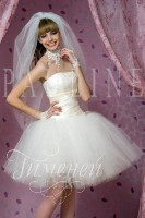 Короткие свадебные платья PAULINE ,Коллекция Миниатюры - Свадебный дом Гименей