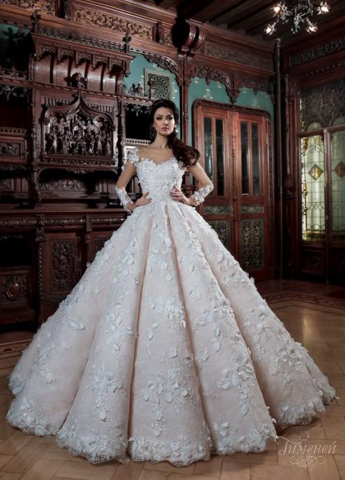 фото свадебные платья пышные фото